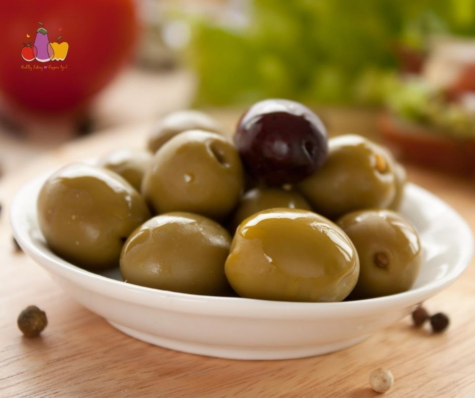 Green Olives - An excellent source of monounsaturated fat.